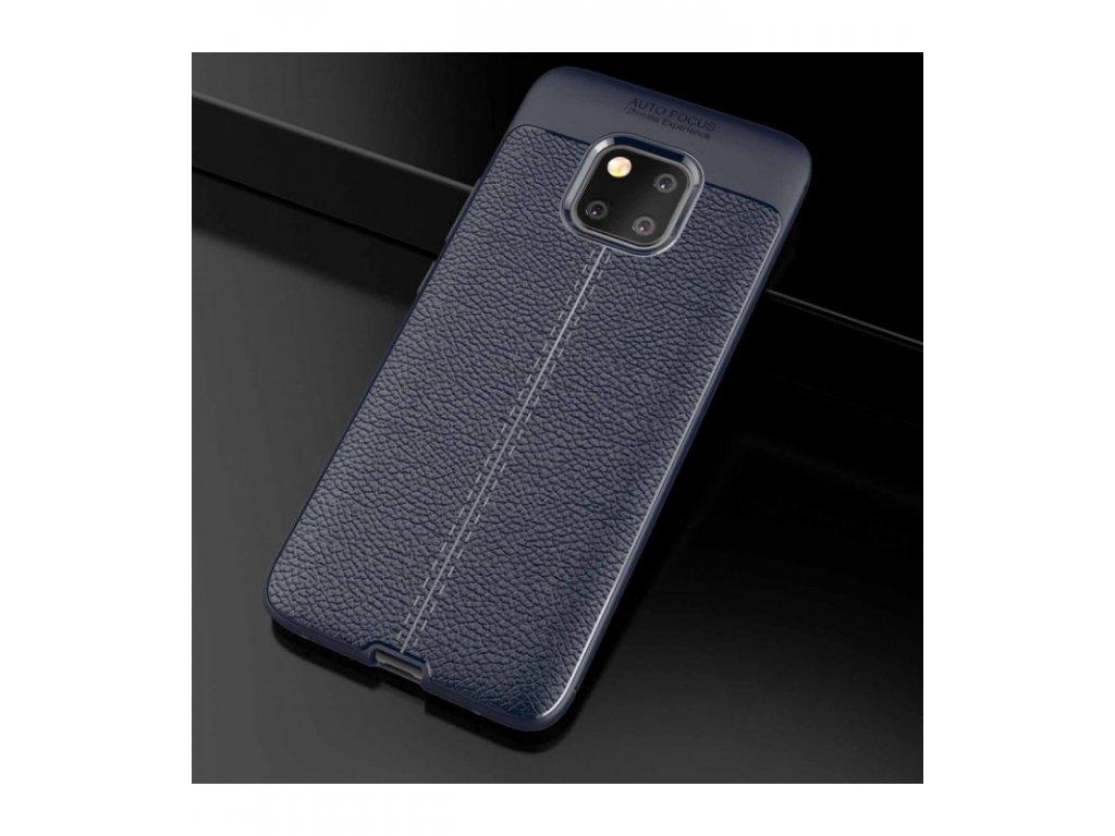 Púzdro Huawei Mate 20 Pro Litchi Shockproof modré