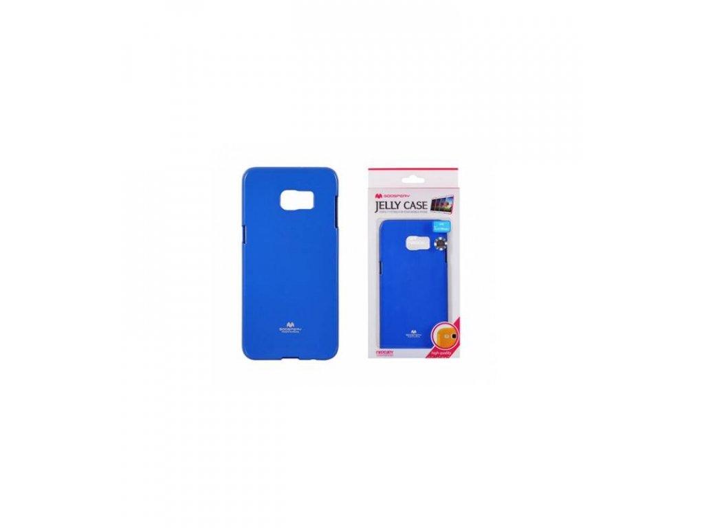 Púzdro na Samsung Galaxy S6 edge plus, Jelly Case modré