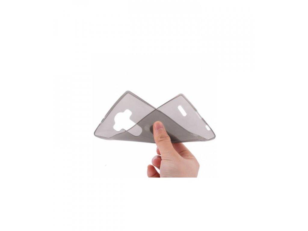Púzdro LG G4 ultra tenke sivé