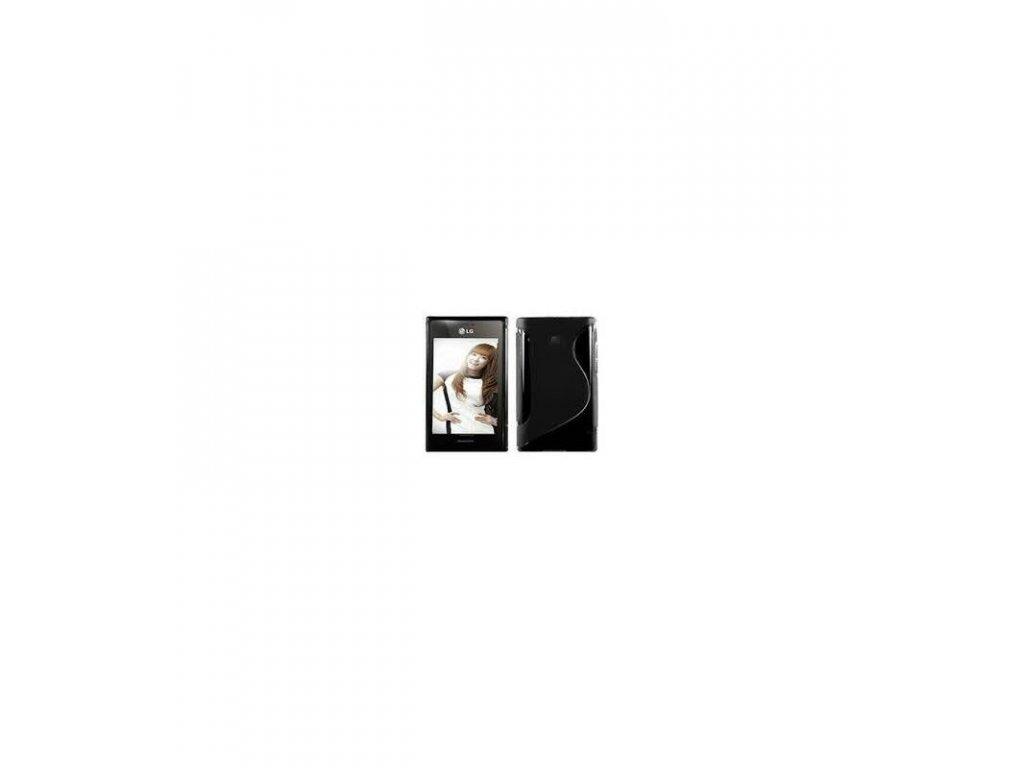 Puzdro LG L3 E400 silikónové čierne