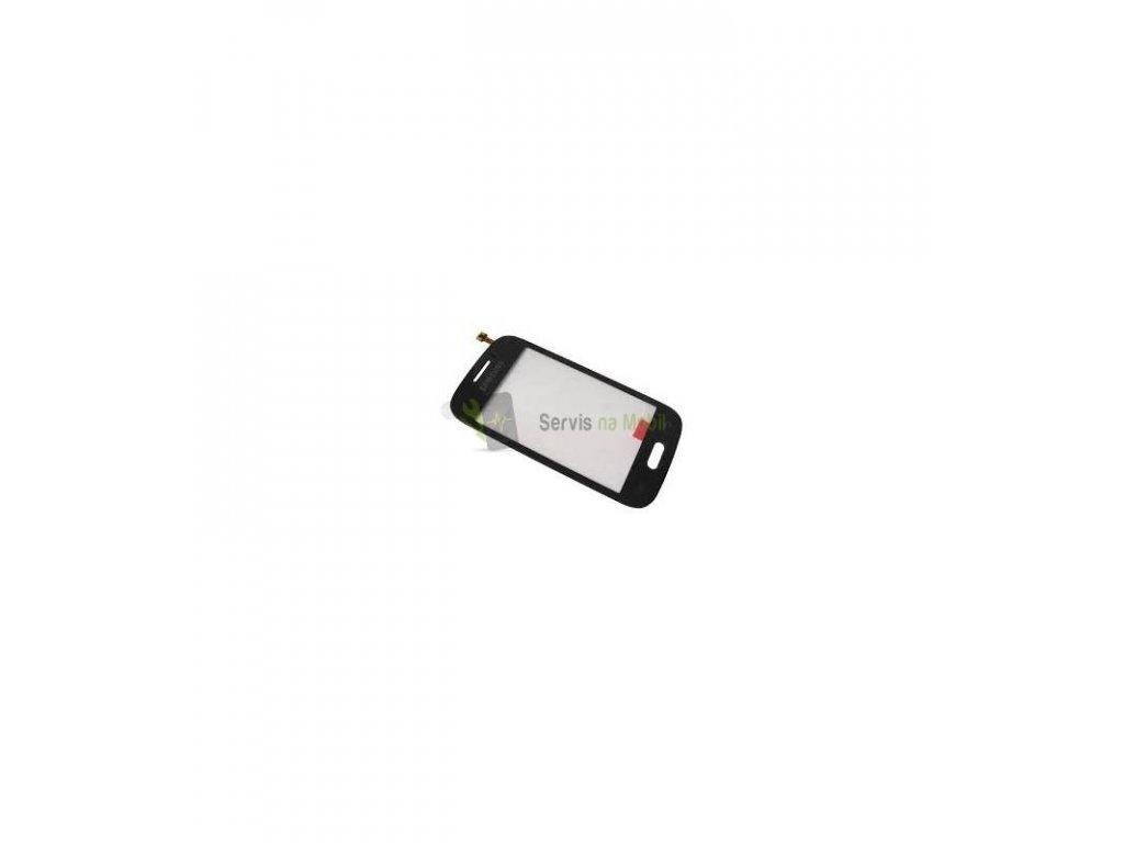 Dotykové sklo Samsung Galaxy Young S6310, S6312 čierna farba