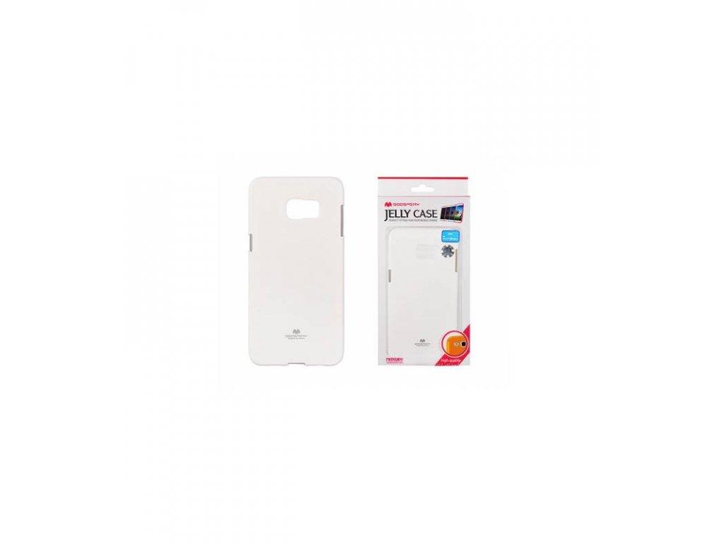 Púzdro na Samsung Galaxy S6 edge plus, Jelly Case biele