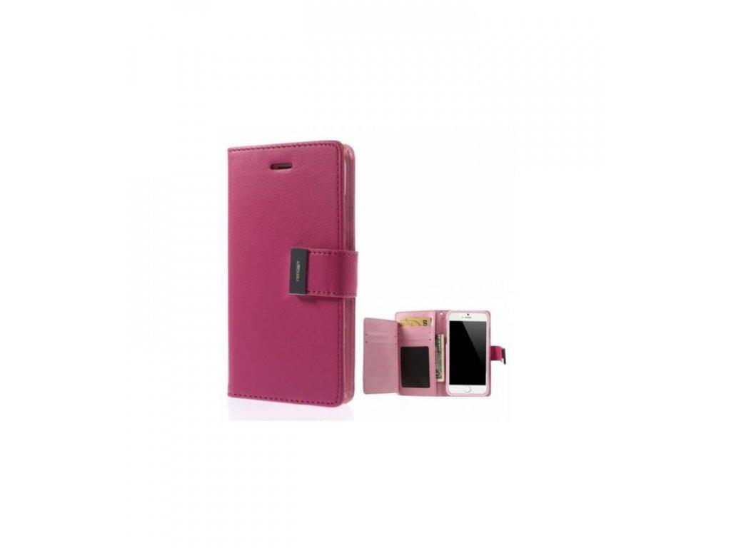 Púzdro iPhone 6 plus Rich Diary ružové