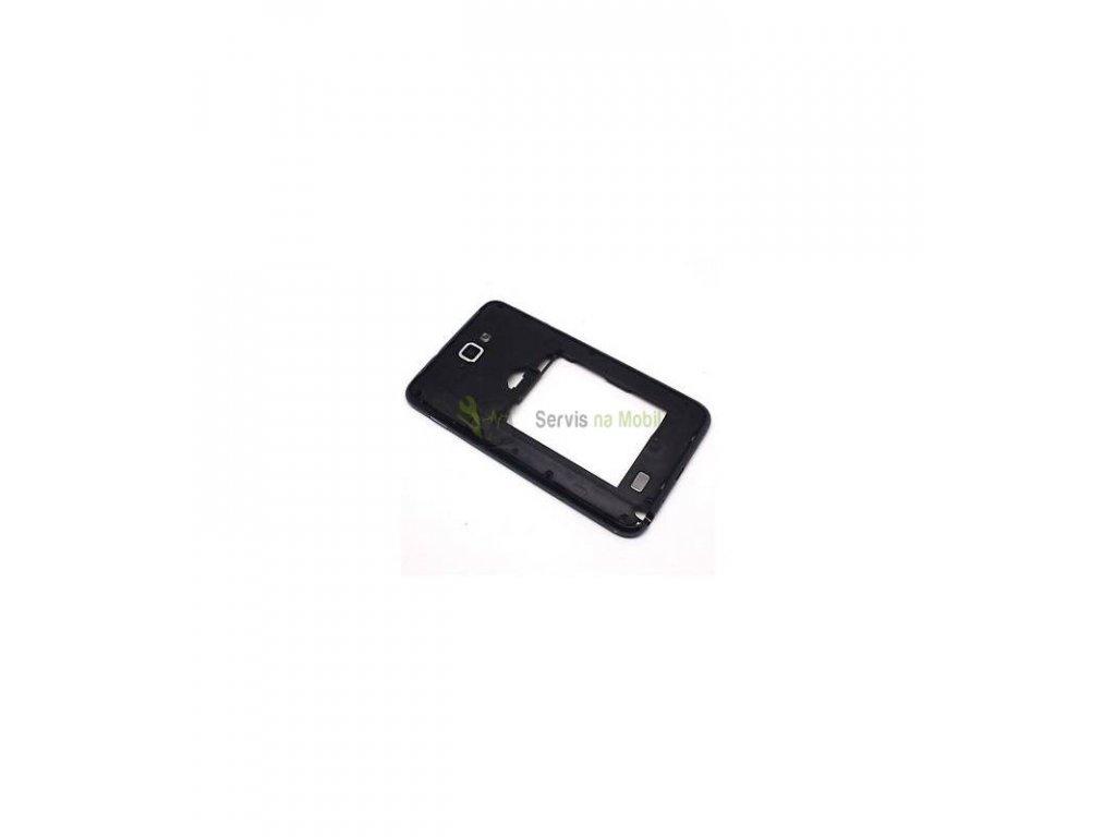 Stredový rám Samsung Galaxy Note N7000 čierna farba
