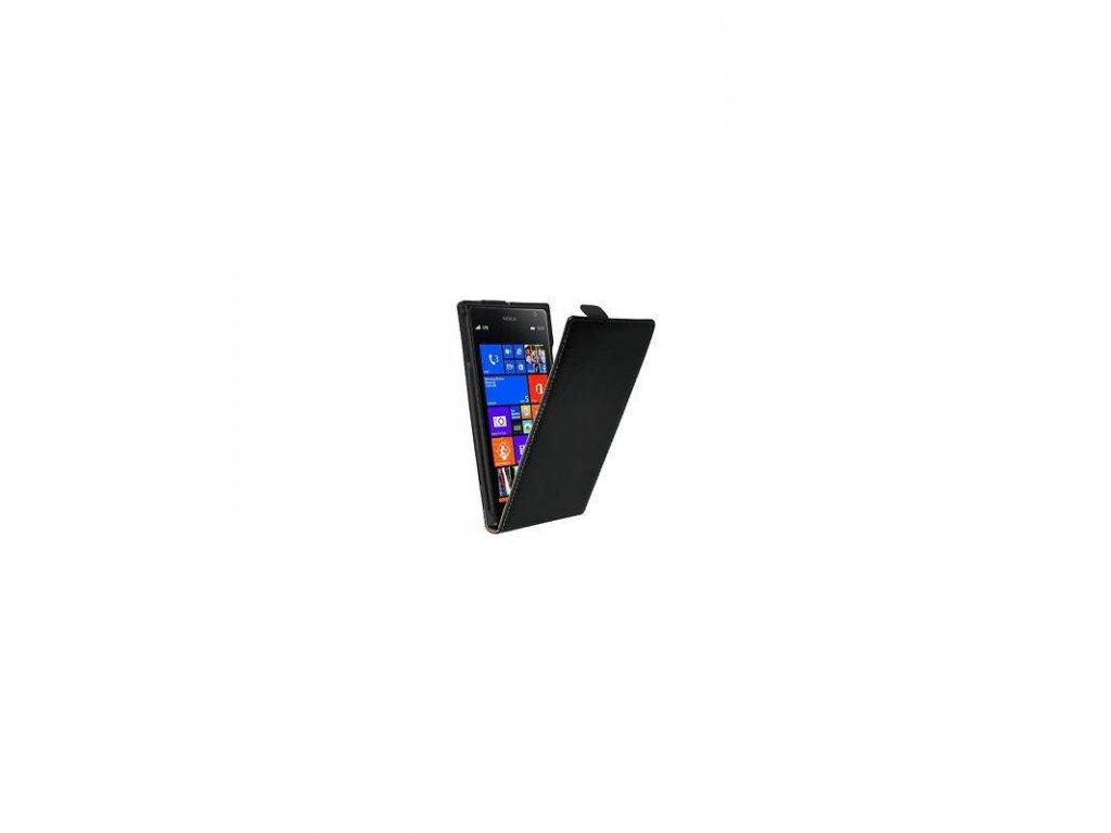 Knižkové púzdro na Nokia Lumia 1520 čierne
