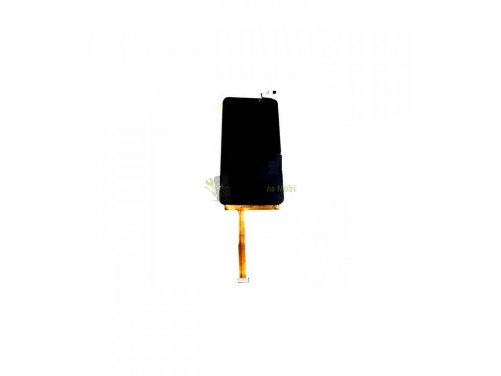 LCD Displej a dotykova plocha Alcatel One Touch Idol S OT-6034D čierna farba