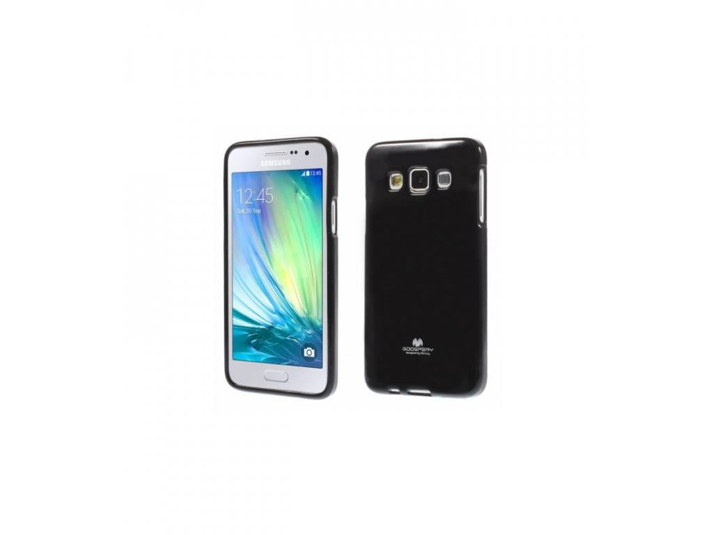 Púzdro na Samsung Galaxy A3, jelly case čierne