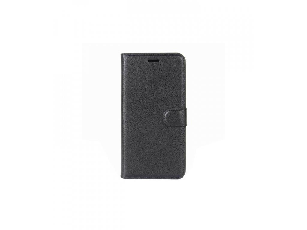 Puzdro OnePlus 5 knižkové čierne