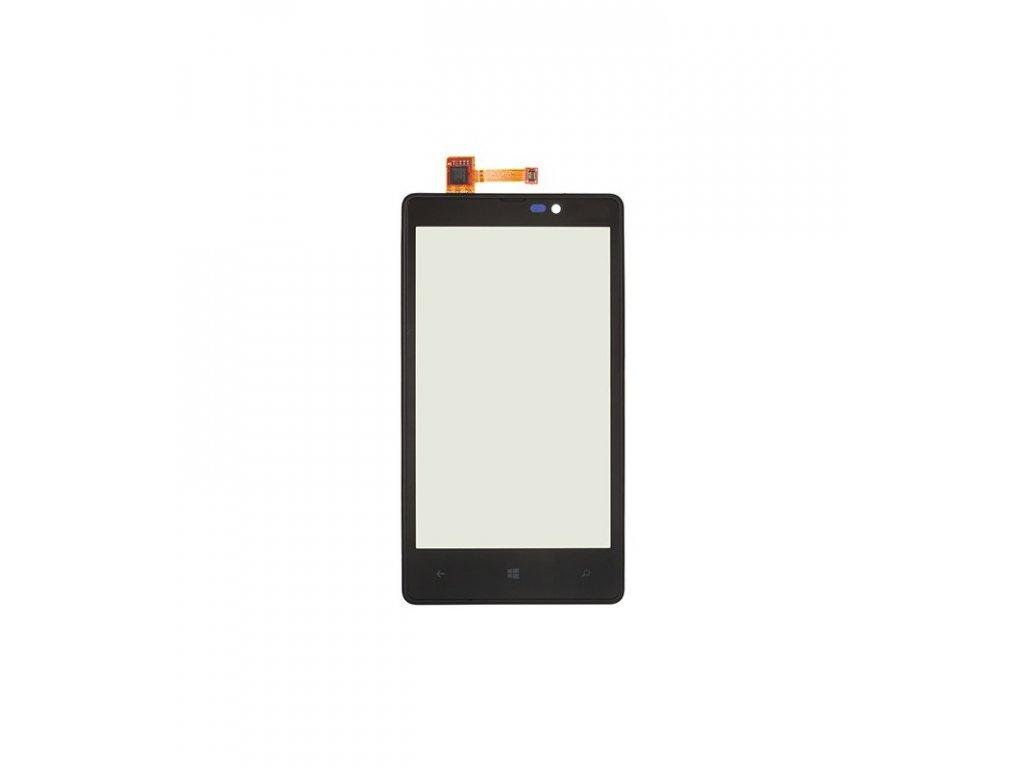 Dotyková plocha s rámom Nokia Lumia 820 čierna farba