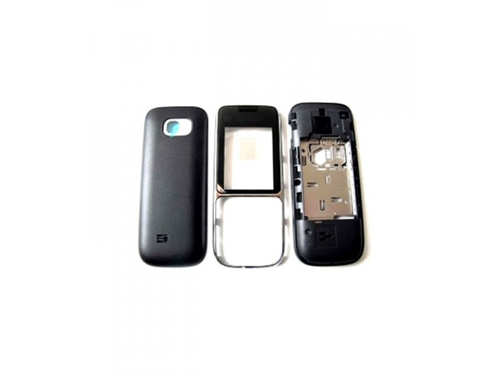 Komplet kryt Nokia C2-01 čierna farba