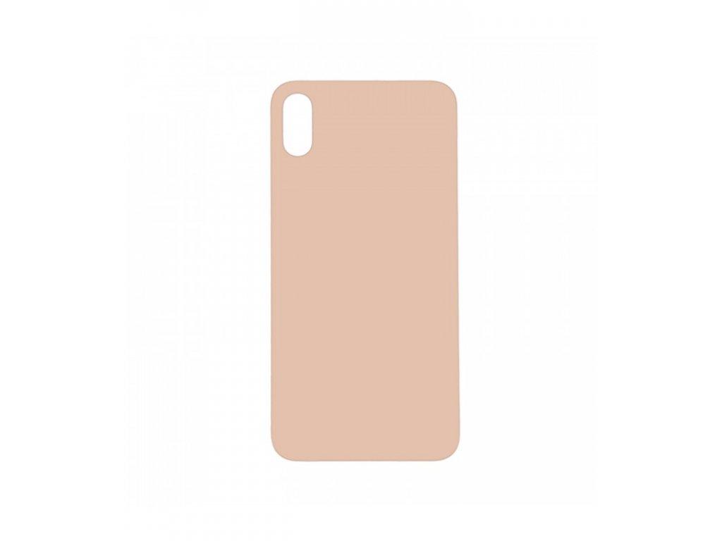 Zadný kryt iPhone XS Max zlatá farba