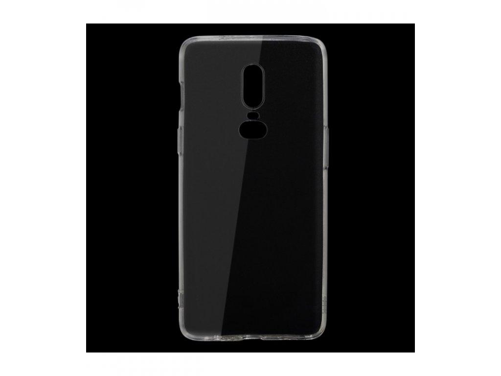 Puzdro OnePlus 6 ultra tenké priesvitné