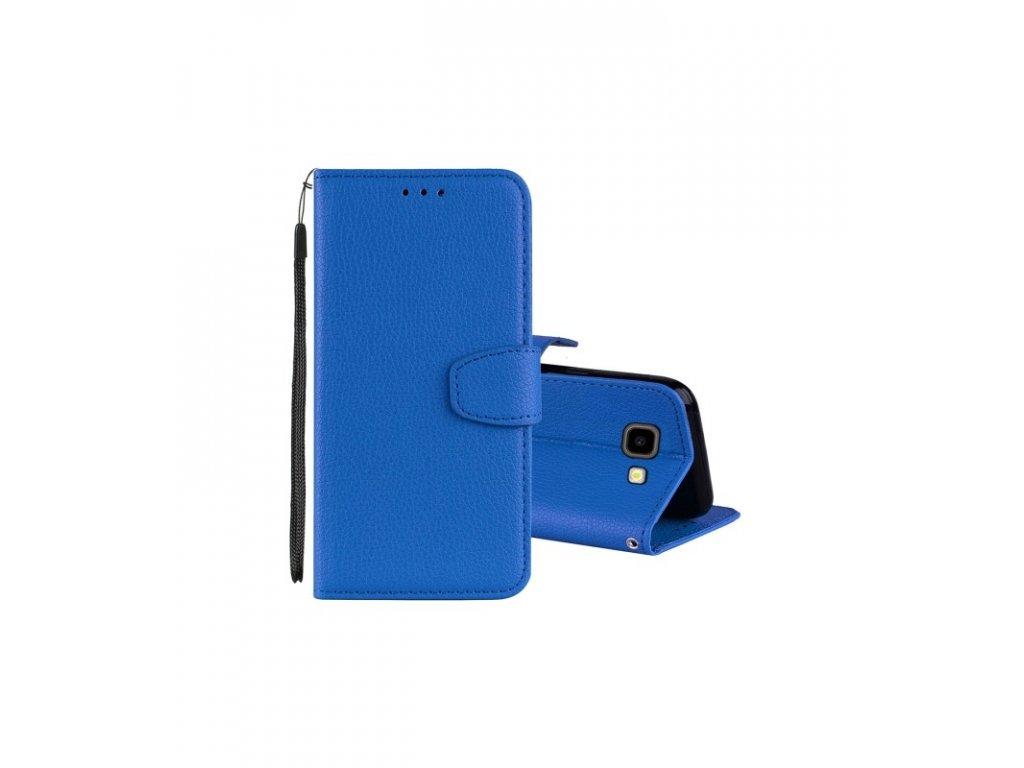 Puzdro Samsung Galaxy J4 Plus (2018) knižkové modré