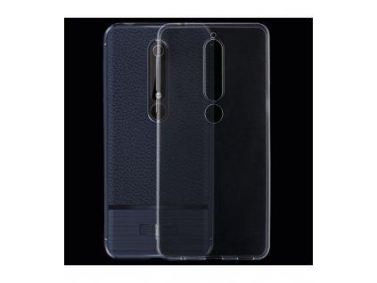 Púzdro Nokia 6.1 ultra tenké priesvitné LITCHI