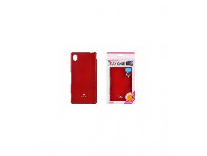 Púzdro Sony Xperia M4 Aqua, Jelly Case červené