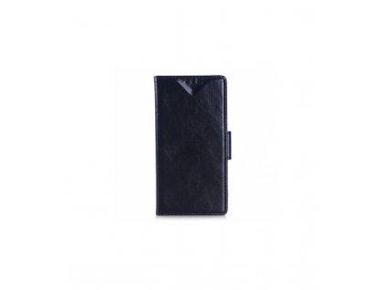 Puzdro Sony Xperia M4 Aqua knižkové čierne