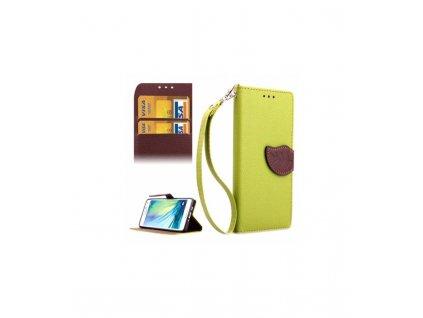 Knižkové puzdro Samsung Galaxy A3 A300 zelené