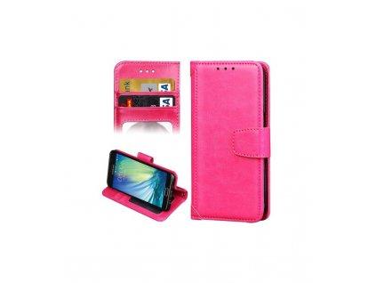Knižkové puzdro na Samsung Galaxy A5 2016 A510 ružové