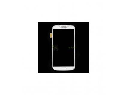 LCD displej a dotyková plocha s rámom Samsung Galaxy S4 i9505 - biela farba OEM