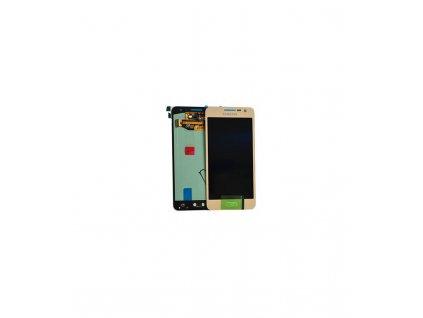LCD Displej + Dotykové sklo Samsung Galaxy A3 A300F Zlatá farba