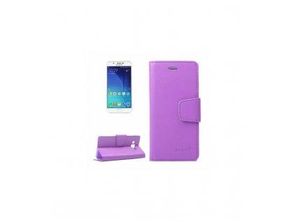 Knižkové púzdro Samsung Galaxy A8 fialové