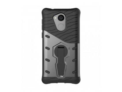 Puzdro Huawei Enjoy 6s/ Honor 6c/ Nova Smart čierna farba