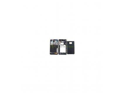 Kompletný kryt Samsung Galaxy S2 i9100 čierna farba