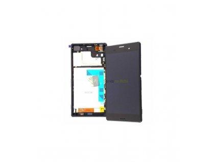 LCD displej a dotyková plocha s rámom Sony Xperia Z3 D6603 Originál OEM čierna farba