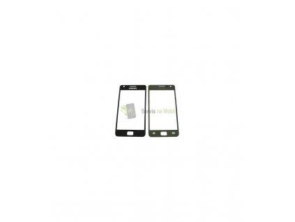Sklo Samsung Galaxy S2 i9100 čierna farba