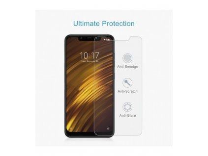 2.5D 9H ochranné tvrdené sklo Xiaomi Pocophone F1