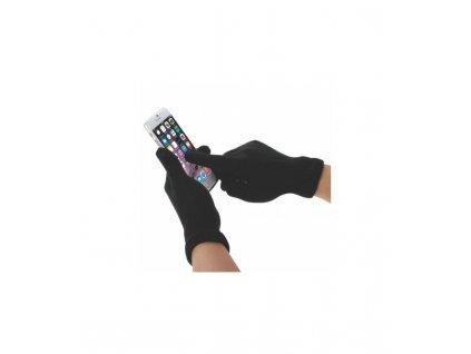 Rukavice pre dotykový displej čierne