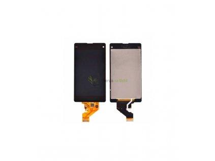 LCD displej a dotyková plocha Sony Xperia Z1 Compact D5503 čierna farba