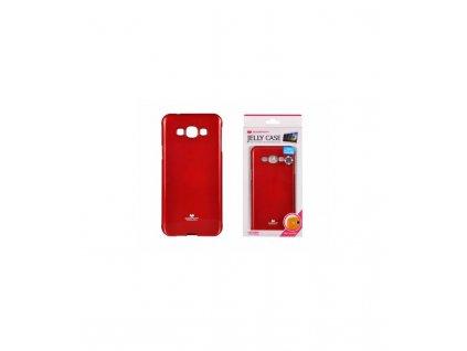 Púzdro na mobil Samsung Galaxy A8 červená farba