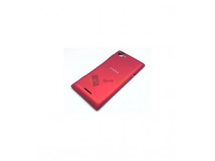 Zadný kryt Sony Xperia L C2105 červená farba