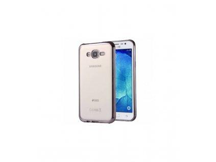 Luxusné puzdro Samsung Galaxy J7 J700 čierna farba
