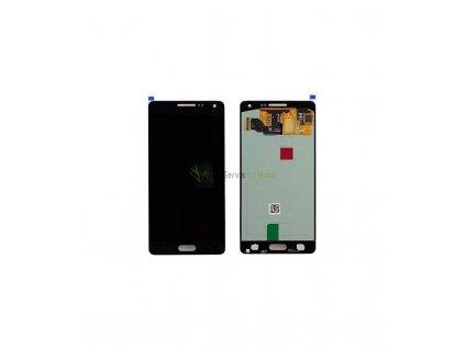LCD displej a dotyková plocha Samsung Galaxy A5 A500F čierna farba