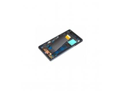 LCD displej a dotyková plocha s rámom vhodný pre Sony Xperia Z C6603 OEM