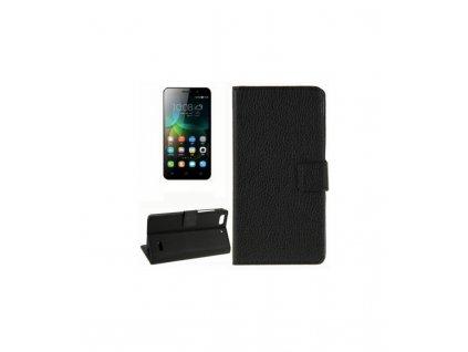 Knižkové puzdro na Huawei Honor 4C čierne