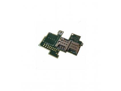 Čítač sim + čítač pamäťovej karty Sony Xperia M C1905