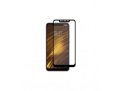 2.5D 9H ochranné tvrdené sklo Xiaomi Pocophone F1 čierna farba