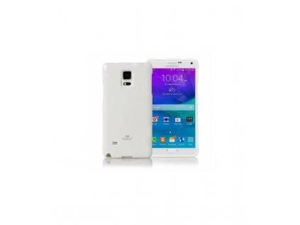 Púzdro na Samsung Galaxy Note 4 edge N915, jelly case biele
