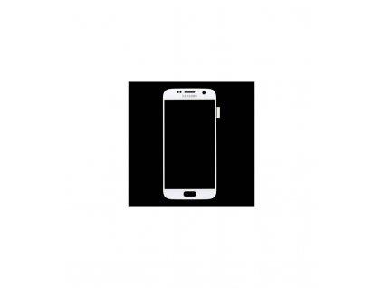 LCD displej a dotyková plocha Samsung Galaxy S7 G930 - biela farba
