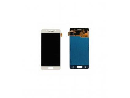 LCD displej a dotyková plocha Samsung Galaxy A3 (2016) A310F biela farba