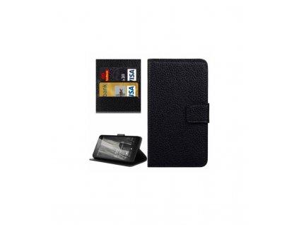 Knižkové puzdro Nokia Lumia 650 čierna farba