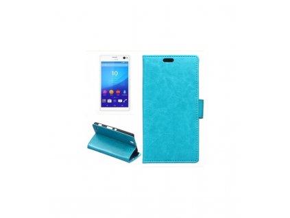 Knižkové púzdro na Sony Xperia C4 modré