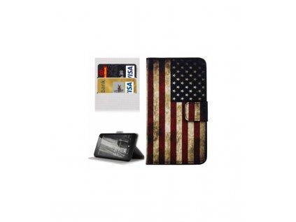 Puzdro Nokia Lumia 650 americká vlajka
