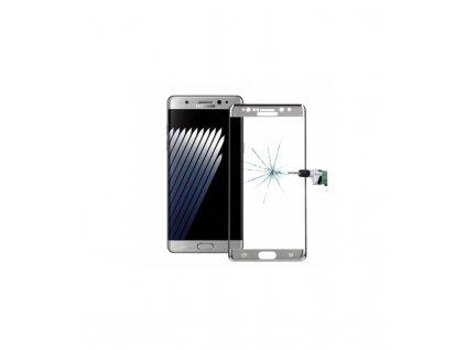 Ochranné tvrdené sklo 3D Samsung Galaxy Note 7 strieborné