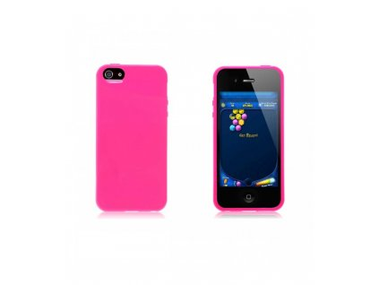 Puzdro iPhone 5S/5/SE HOT PINK