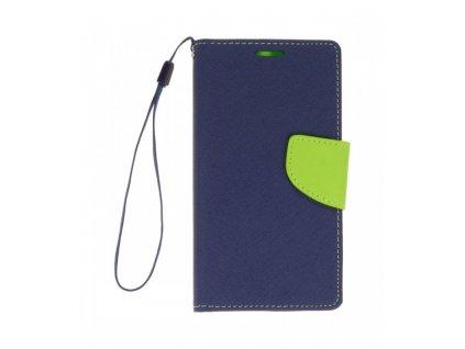 Puzdro Samsung Galaxy J5 J500 Fancy Diary modré