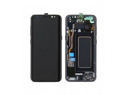 LCD displej + Dotyk Samsung G950 Galaxy S8 s rámom čierny